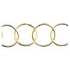 Chain Round 20mm Gold